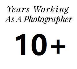 Years working Photographer team island p