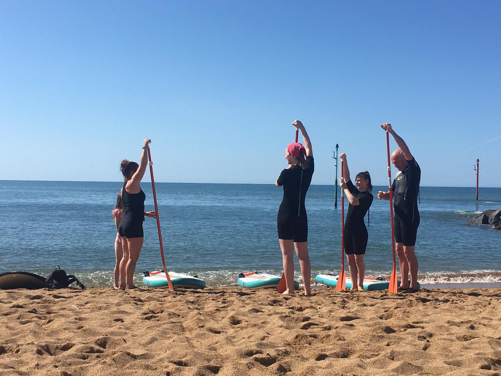 Group Paddle Boarding Lesson
