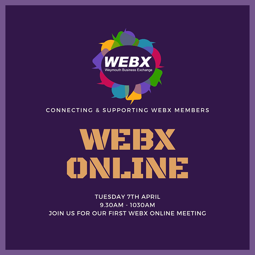 WEBX ONLINE NETWORKING MEETING
