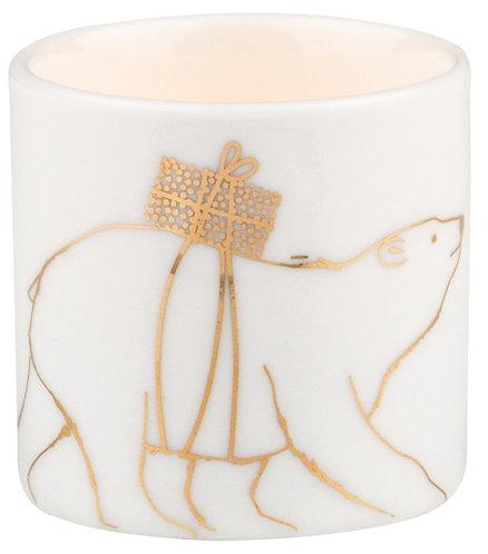 Christmas Bright Delight Ice Bear Tea Light by Rader Designs