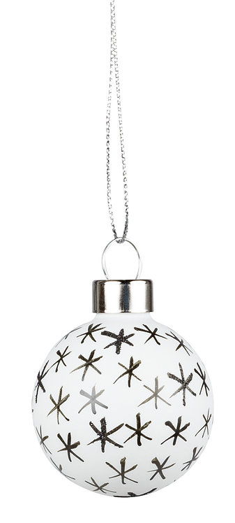 Christmas Baubles Set of 4 by Rader Designs
