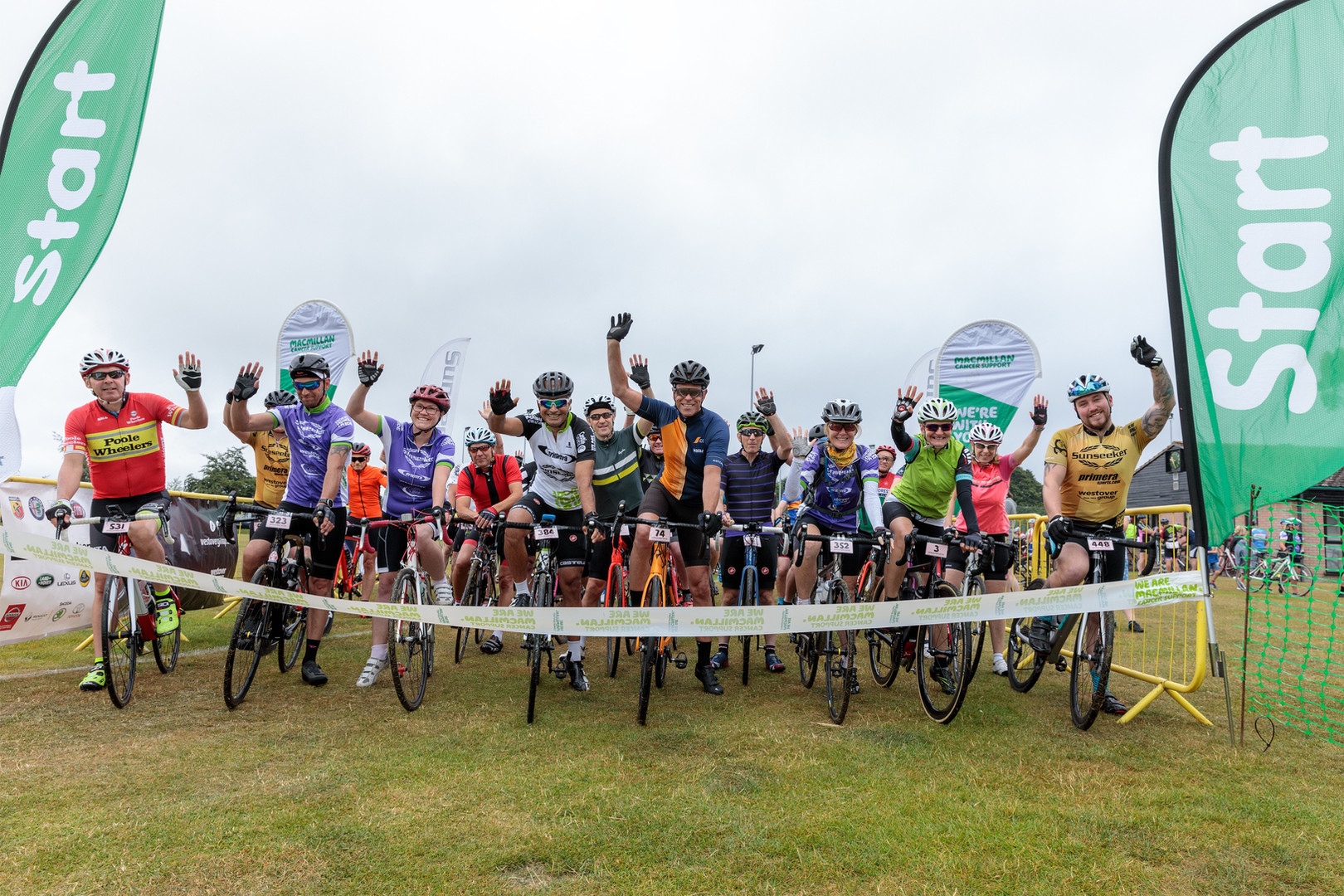 Macmillan Charity Bike Ride