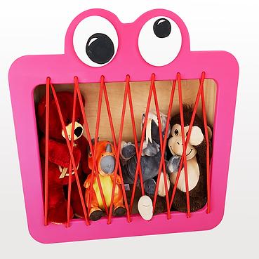 Pink monster Unbearable Design bespoke k