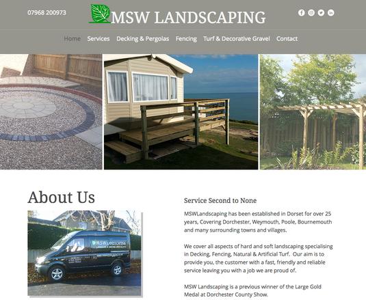 MSW Landscaping Dorchester Dorset Weymou