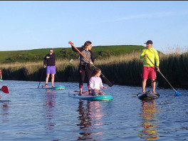 River Standup Paddle Boarding SUP West B