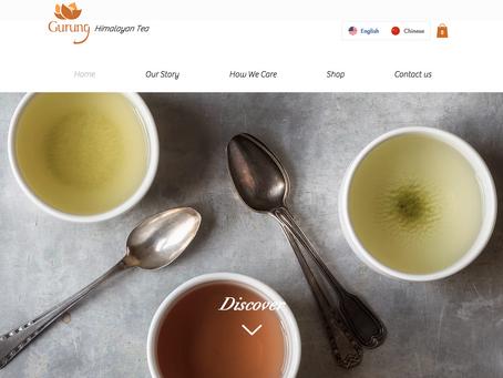 weCREATE's First Multilingual Website