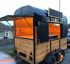 Custom Catering Trailer by Unbearable De