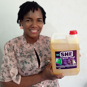 Our Ghanaian RISE Fellow, Stella Kudah, improves access to hygiene whilst empowering rural women