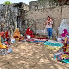 Providing Hygiene Kits for Women and Girls in Rajasthan: COVID-19 Emergency Relief