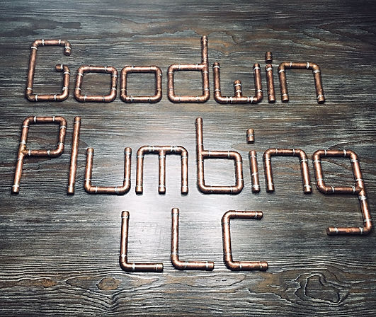 Goodwin Plumbing LLC sign