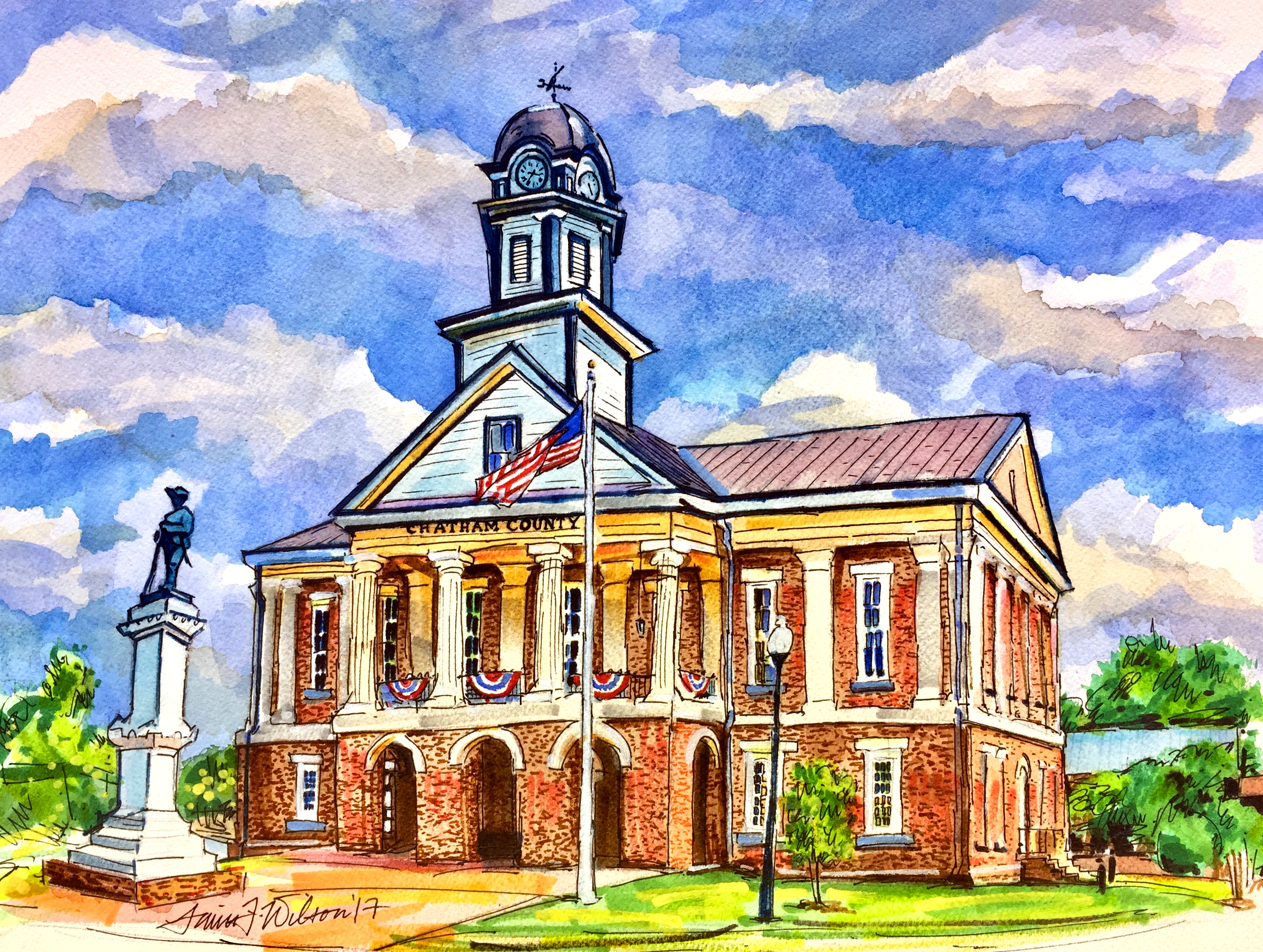 Pittsboro, NC - Courthouse