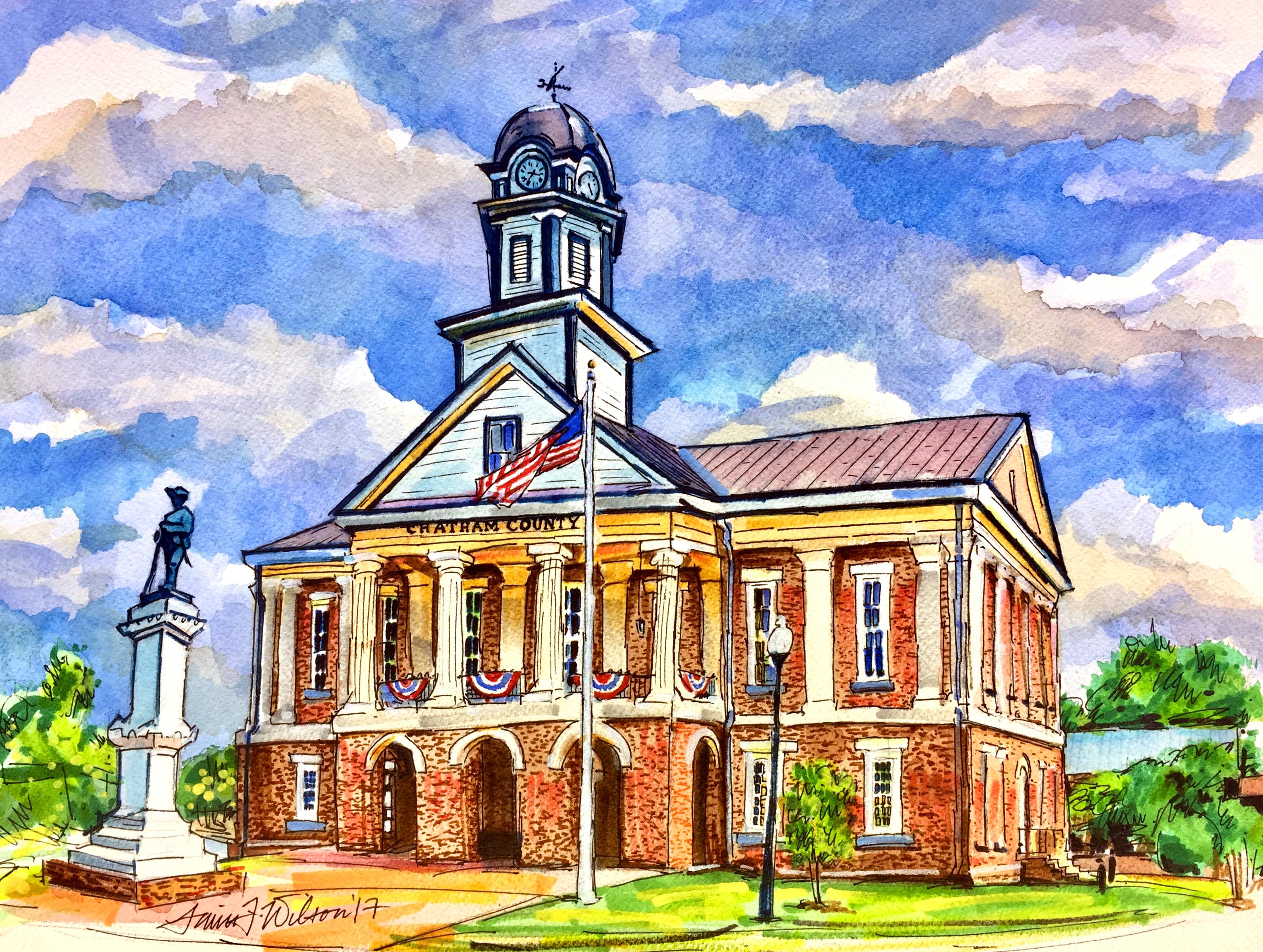 Pittsboro, NC - Courthouse
