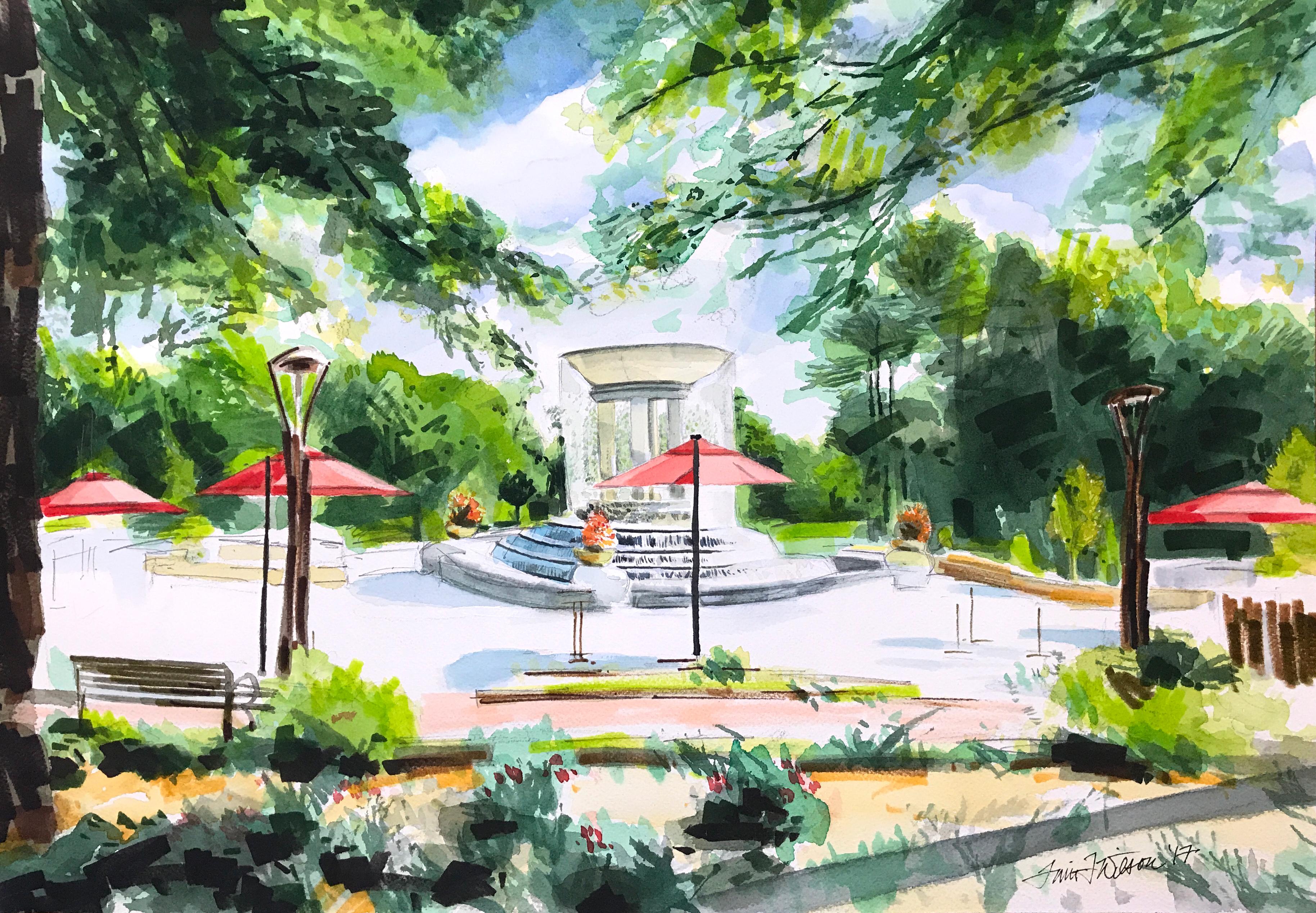 Cary Fountain - Cary, NC