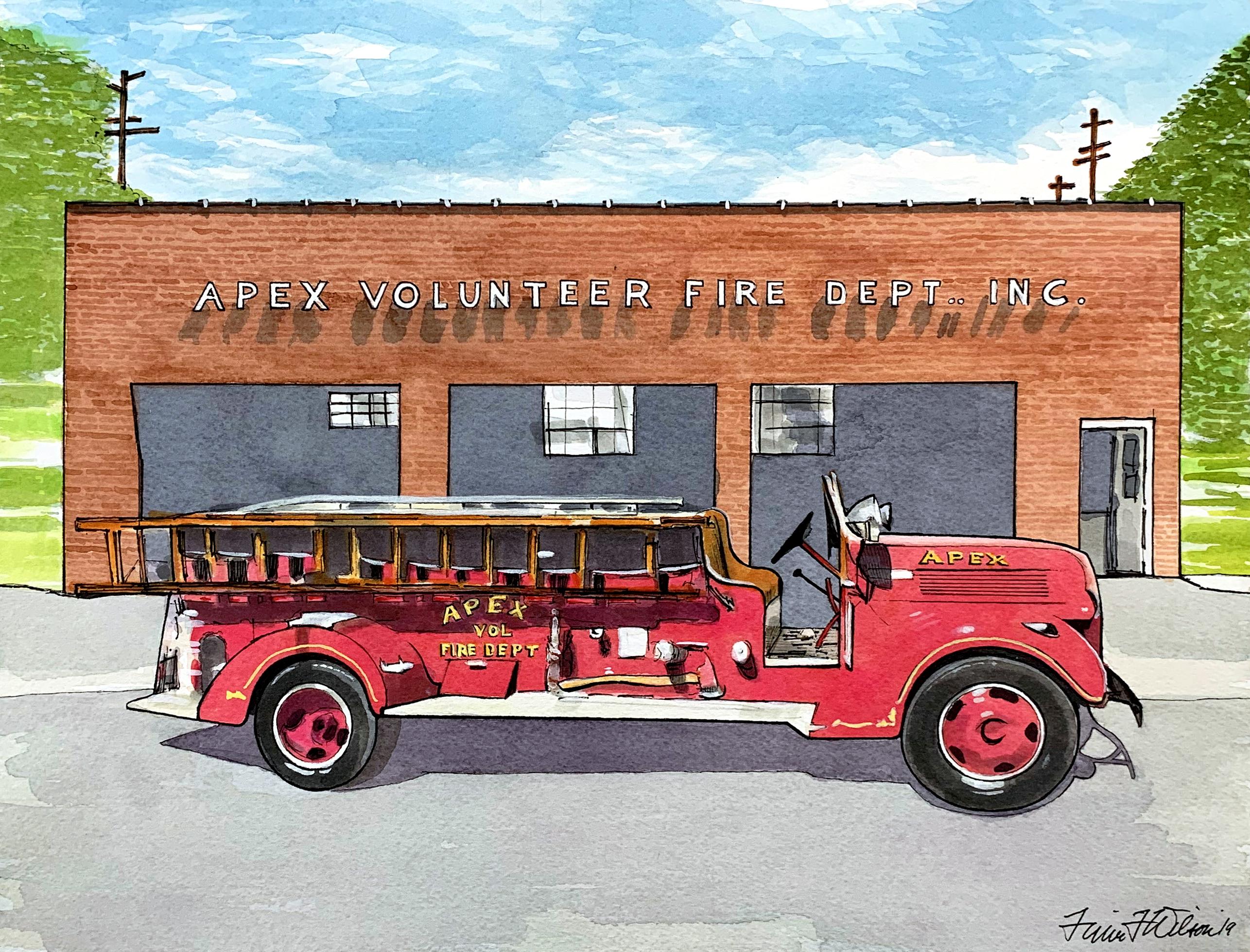 Old Apex Firetruck