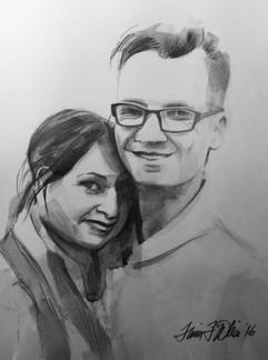 Portrait - Wedding Couple