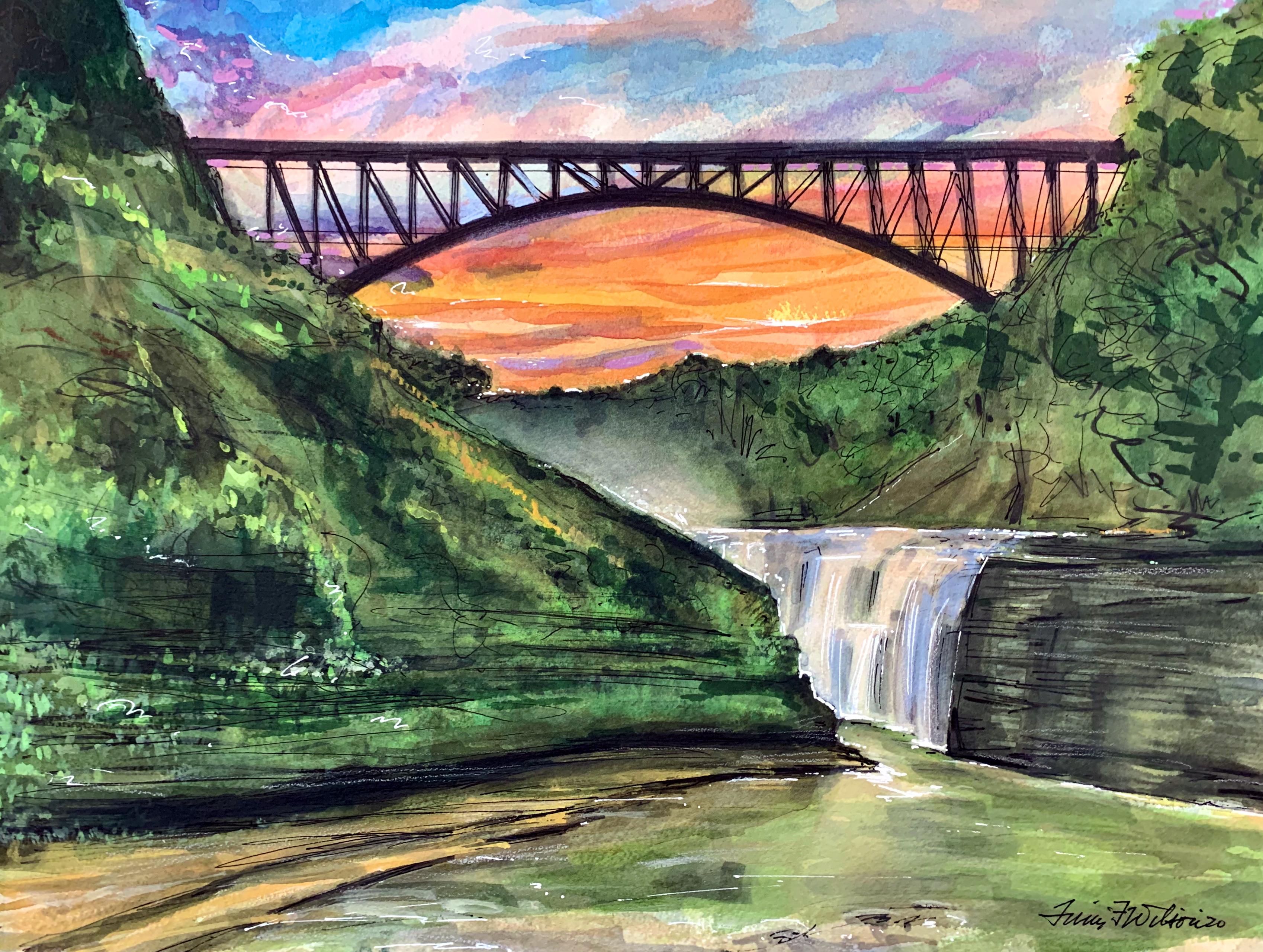 Letchworth State Park - Upper Falls