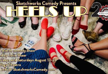 """""""Heels Up"""" Opens in August!"""