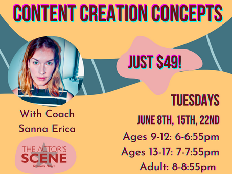 New Content Creation Class Just Added!