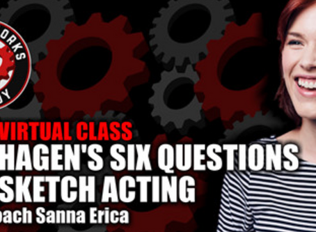 New ONLINE Comedy Acting Class!