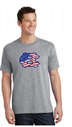 Gray Short Sleeve T-shirt