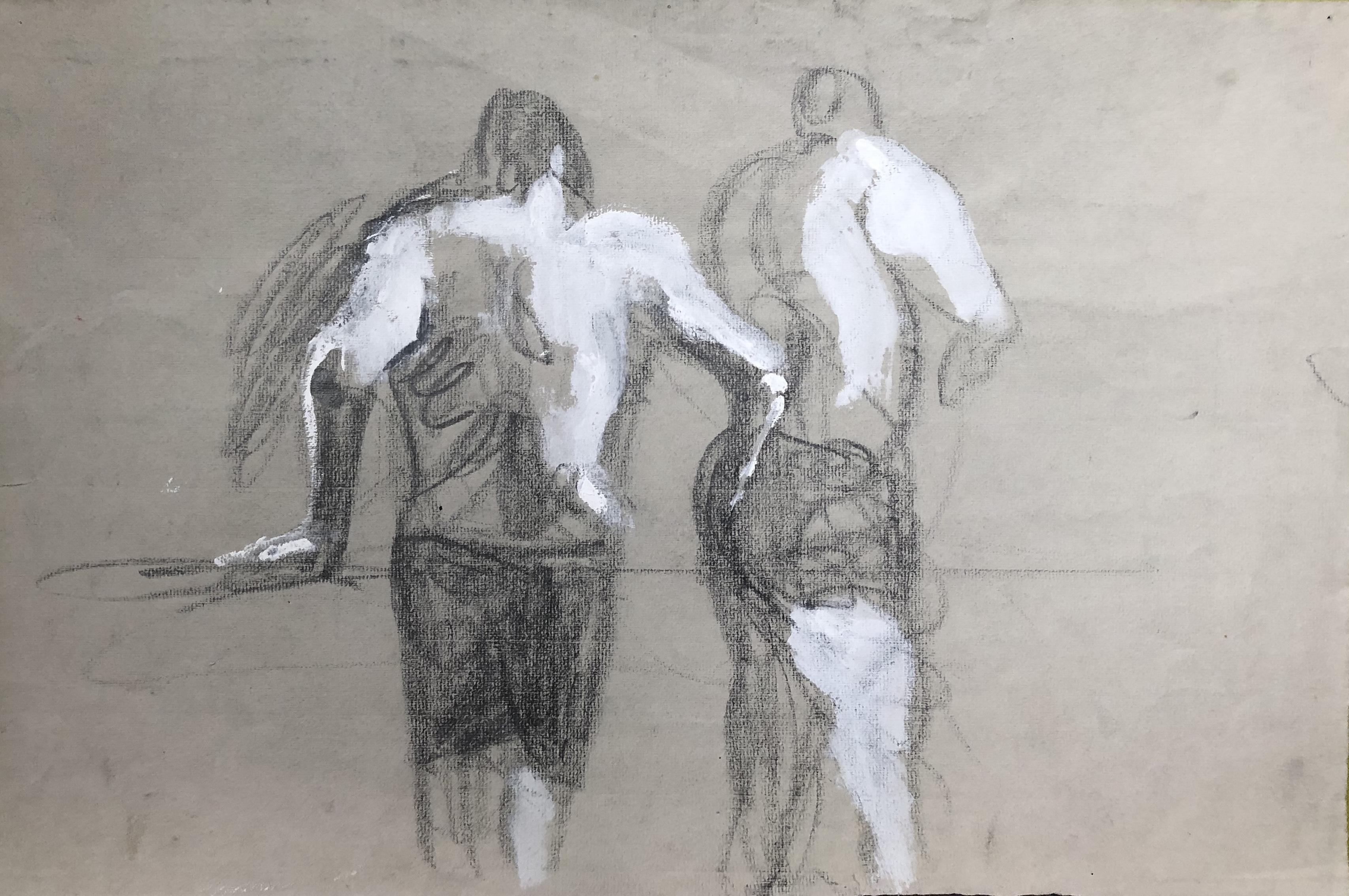 Männer im Schwimmbad
