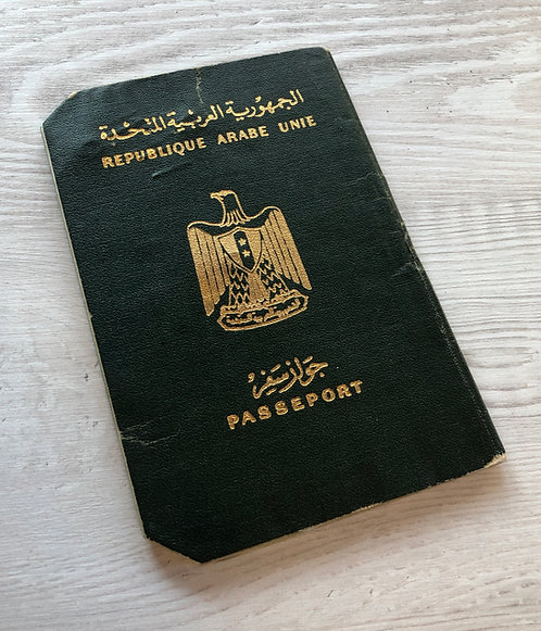 Egypt 1961 with various visas & revenues