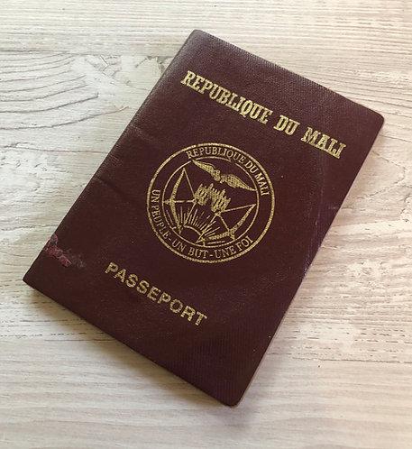 Mali 2002 pre-biometric with Congo Brazaville visa