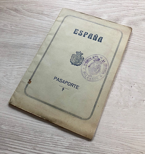 Spain 1929 issued at Palma de Mallorca