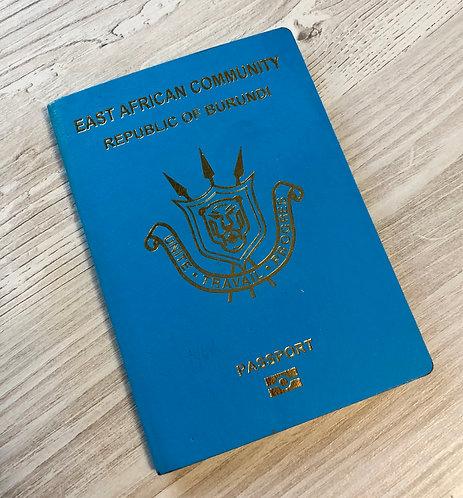 Burundi 2019 biometric MINT CONDITION