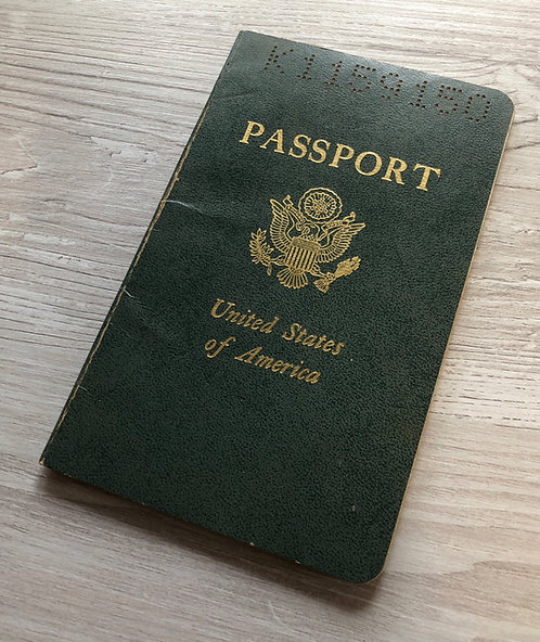 USA 1969 with Poland visas