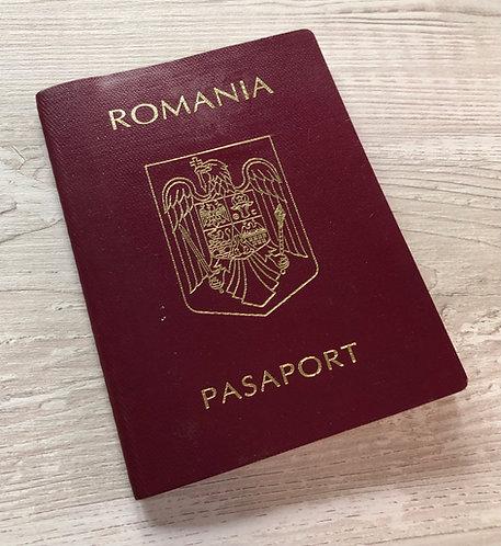 Romania 1996 with US visa