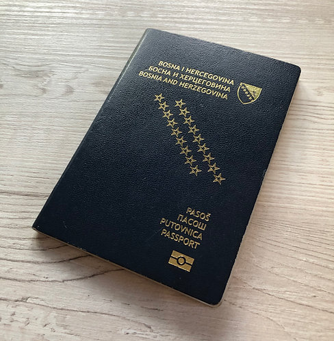 Bosnia & Herzegovina 2015 biometric
