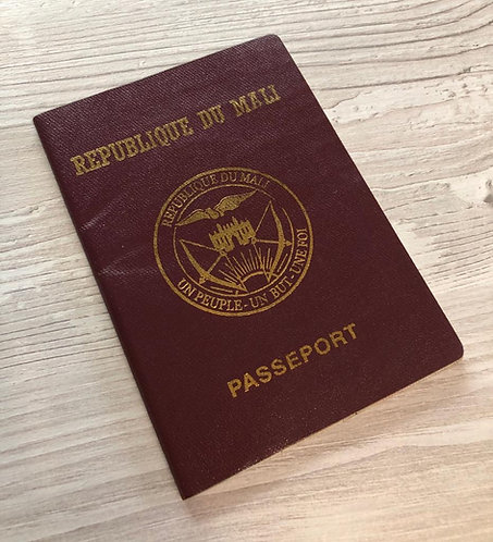 Mali 2011 with Congo visa