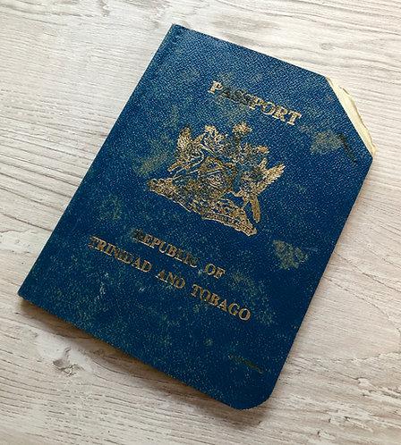 Trinidad and Tobago 1989 with US visa