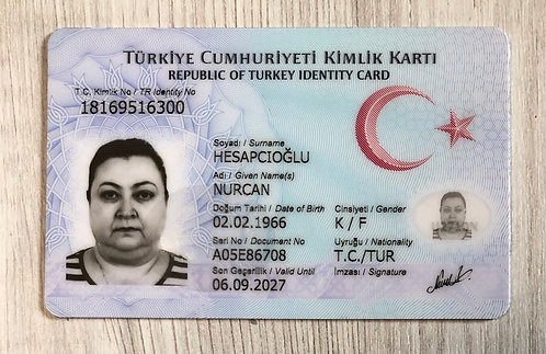 Turkey identity ID-card