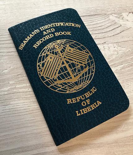 Liberia 1995 seaman passport