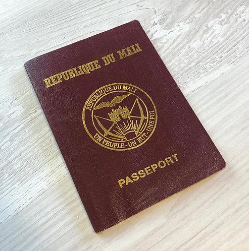 Mali 2009 pre-biometric with Congo Brazaville visa