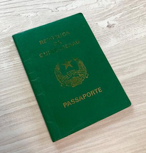 Guinea-Bissau 2008 with some visas