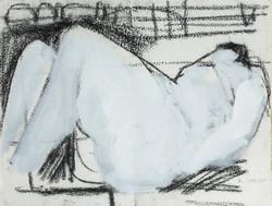 'Liegender Akt / Nude'