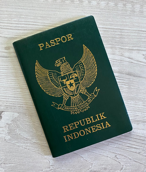 Indonesia 2001 with multiple German residence visas