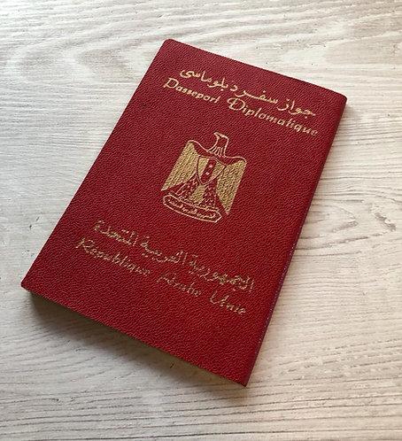 United Arab Republic 1967 diplomatic