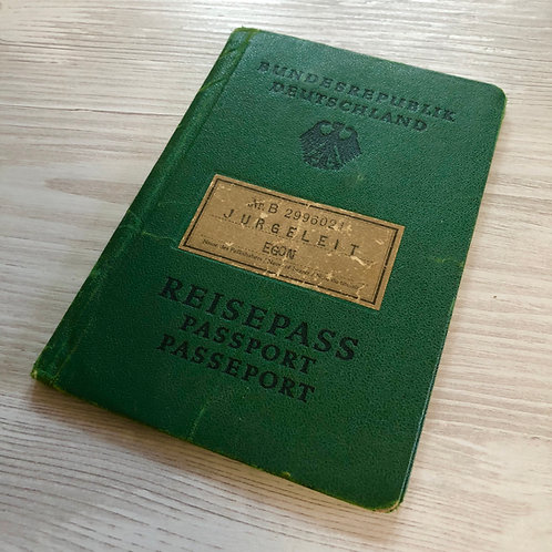 Germany 1959 with US non-immigration visa