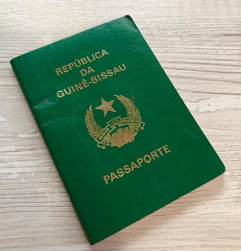 Guinea-Bissau 2001 with some visas