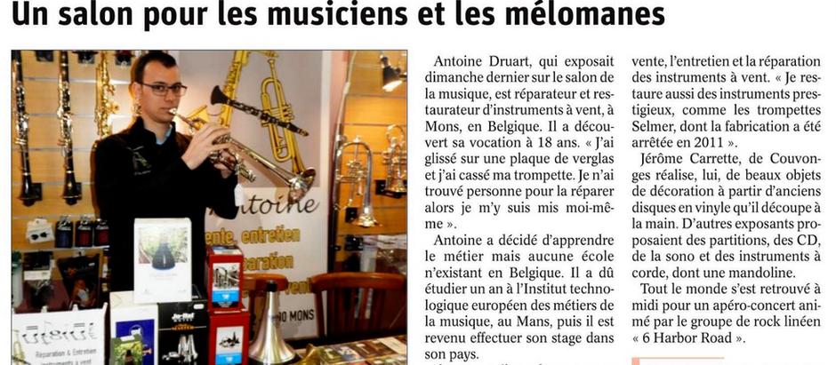 L'Atelier Musical était présent au salon  de Longeville-en-Barrois
