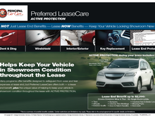 New Principal Car Care Preferred LeaseCare Program