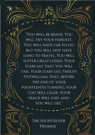 """""""You will be brave. You will try your ha"""
