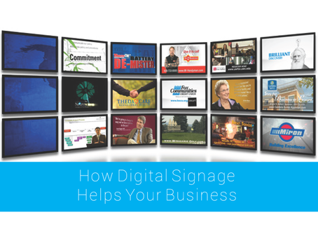 How Digital Signage Helps Your Business
