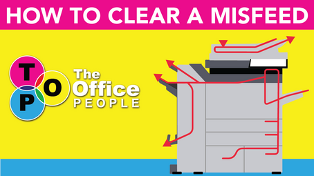 How to Clear a Copier Misfeed