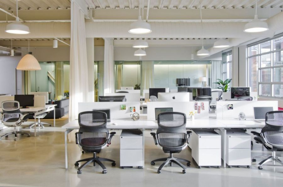 great office spaces beautiful spaces home office interior design ideas great desk idea an decorating industrial office space design inside spaces - Office Space Design Ideas