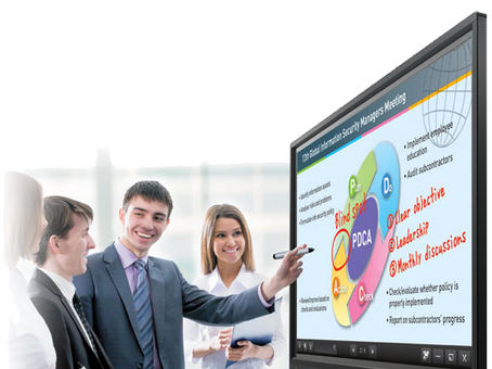 Why IT Professionals Love the  Sharp AQUOS BOARD Interactive Display